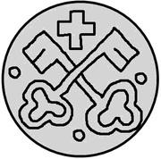 1 pfennig Hermann von Brüggeneye (Riga) – revers