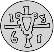 1 pfennig Gotthard Kettler (Riga) – avers