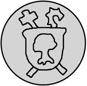 1 pfennig Wolter von Plettenberg & Jasper Linde (Riga; bouclier lisse) – revers