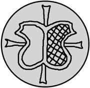 1 pfennig Wolter von Plettenberg & Jasper Linde (Riga; bouclier bosselé) – avers