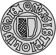1 pfennig Wolter von Plettenberg (Wenden) – avers