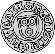 1 pfennig Freytag von Loringhoven (Wenden) – avers