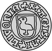 1 pfennig Bernd von der Borch (Wenden) – avers