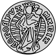 1 ferding Wolter von Plettenberg & Jasper Linde (Riga; bouclier liss; enfant à gauche; moitié gauche ombragée) – revers