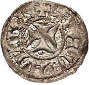 1 lübische Wennemar von Brüggeneye (Reval; croix solide) – revers