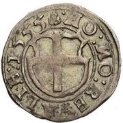 1 ferding Heinrich von Galen (Reval; bouclier simple) -  revers