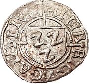 1 schilling Heinrich von Galen (Riga; haut plat) – avers