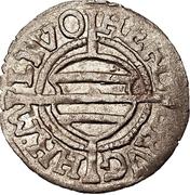 1 schilling Hermann von Brüggeneye (Riga; coins pointus) – avers