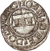 1 schilling Johann von der Recke & Wilhelm von Brandenburg (Riga) – avers