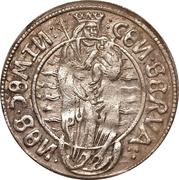 1 ferding Wolter von Plettenberg & Jasper Linde (Riga; bouclier lisse; enfant à gauche; moitié droite ombragée) – revers