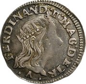 1 luigino - Ferdinand II – avers