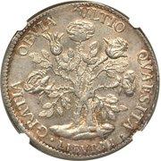 1 pezza della rosa - Cosimo III – revers