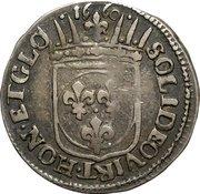 1 luigino - Ferdinand II – revers