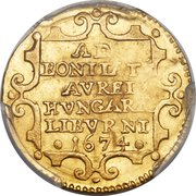 1 ongaro - Cosimo III – revers