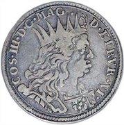 ¼ tollero - Cosimo III – avers
