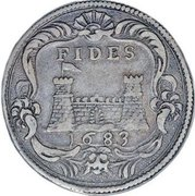 ¼ tollero - Cosimo III – revers
