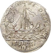 ½ tollero - Cosimo III – revers