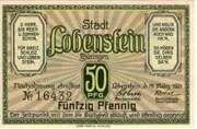 50 Pfennig (Lobenstein)