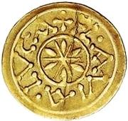 1 tremissis Didier (Lucques; croix en pointillé) – revers