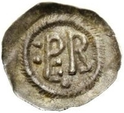 ½ silique Perctarith (six points) – revers