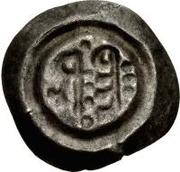½ silique Perctarith (pièce posthume; monogramme mince avec huit points) – revers