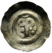 ½ silique Perctarith (pièce posthume; monogramme épais) – avers