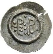 ½ silique Perctarith (douze points) – revers