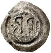 ½ silique Perctarith (pièce posthume; monogramme mince avec onze points) – revers