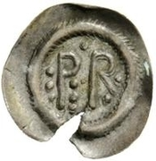 ½ silique Perctarith (neuf points) – revers