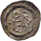 ½ silique Perctarith (pièce posthume; monogramme mince avec deux points) – avers