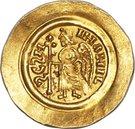 1 tremissis Liutprand (buste régulier; avec lettre dans le champ) – revers