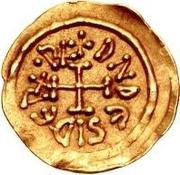 1 tremissis Didier (Lucques; croix solide) – avers