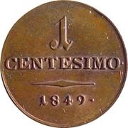 1 centesimo - Franz Joseph I – revers