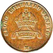 5 centesimi - Franz Joseph I – avers