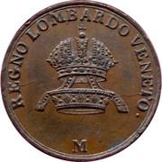 1 centesimo - Franz I – avers