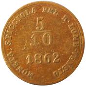 5/10 soldo - Franz Joseph I – revers