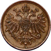 1 soldo - Franz Joseph I – avers
