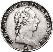 ½ lira - Franz I – avers