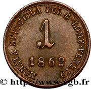 1 soldo - Franz Joseph I – revers