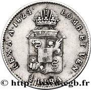 ½ lira - Franz I – revers
