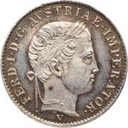 ½ lira - Ferdinand I – avers