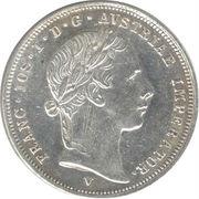 ½ lira - Franz Joseph I – avers
