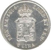 ½ lira - Franz Joseph I – revers