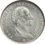 1 lira - Franz I – avers