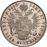 1 lira - Franz Joseph I – revers