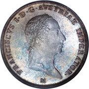 ½ scudo - Franz I – avers