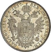 1 scudo - Ferdinand I – revers