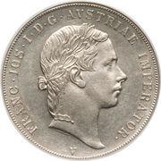 1 scudo - Franz Joseph I – avers