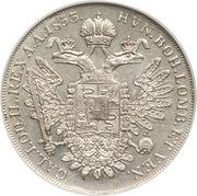 1 scudo - Franz Joseph I – revers