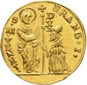 1 zecchino - Franz I – avers